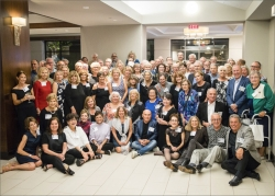 All attendees to the 50th.  I wish I could take credit for this, but I gave Will Buergey (Jody's husband) the camera an